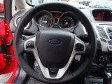 2013 Ford Fiesta SE Sedan Steering Wheel