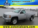 2012 Silver Ice Metallic Chevrolet Silverado 1500 LT Regular Cab 4x4 #78997027