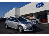 2012 Ingot Silver Metallic Ford Focus SEL 5-Door #78996457