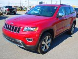 2014 Deep Cherry Red Crystal Pearl Jeep Grand Cherokee Limited 4x4 #78996868