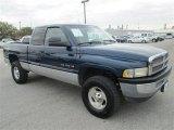 2001 Patriot Blue Pearl Dodge Ram 1500 SLT Club Cab 4x4 #78996308