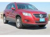 2011 Wild Cherry Metallic Volkswagen Tiguan SE #78996998