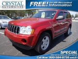 2006 Red Rock Crystal Pearl Jeep Grand Cherokee Laredo #78996847