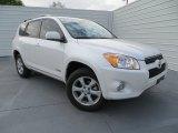 2012 Blizzard White Pearl Toyota RAV4 V6 Limited #78996540