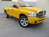 2008 Dodge Ram 1500 Detonator Yellow
