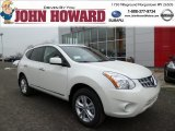 2013 Pearl White Nissan Rogue SV AWD #78996827