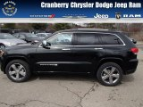 2014 Black Forest Green Pearl Jeep Grand Cherokee Overland 4x4 #78996374