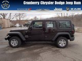 2013 Rugged Brown Pearl Jeep Wrangler Unlimited Sport 4x4 #78996370