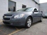 2008 Dark Gray Metallic Chevrolet Malibu LS Sedan #7885983