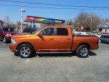 2010 Mango Tango Pearl Dodge Ram 1500 Sport Crew Cab 4x4 #78996812
