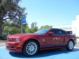 2014 Ruby Red Ford Mustang V6 Premium Convertible #78996355