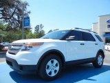 2013 Oxford White Ford Explorer FWD #78996352