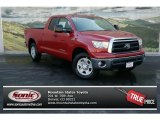 2013 Barcelona Red Metallic Toyota Tundra Double Cab 4x4 #78996216