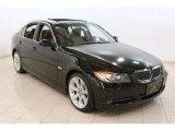 2006 Jet Black BMW 3 Series 330xi Sedan #78996798