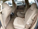 2009 Buick Enclave CX AWD Rear Seat