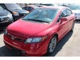 2007 Rallye Red Honda Civic Si Sedan #78997047