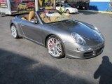 2008 Meteor Grey Metallic Porsche 911 Carrera S Cabriolet #78996785