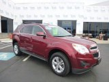 2010 Cardinal Red Metallic Chevrolet Equinox LT AWD #78996474