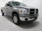 2008 Mineral Gray Metallic Dodge Ram 1500 ST Quad Cab 4x4 #78996758