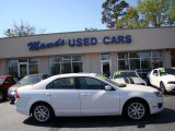 2010 White Platinum Tri-coat Metallic Ford Fusion SEL V6 #78996625