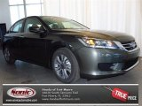 2013 Hematite Metallic Honda Accord LX Sedan #79058333