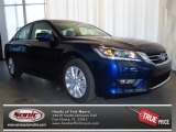2013 Obsidian Blue Pearl Honda Accord EX Sedan #79058332
