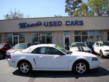 2002 Oxford White Ford Mustang V6 Convertible #79058796