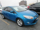 2012 Blue Candy Metallic Ford Focus SE Sport 5-Door #79058477