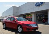 2011 Red Candy Metallic Ford Fusion SE V6 #79058592