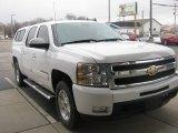 2009 Summit White Chevrolet Silverado 1500 LTZ Crew Cab 4x4 #79059238