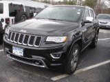 2014 Brilliant Black Crystal Pearl Jeep Grand Cherokee Overland 4x4 #79058303