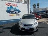 2013 Ingot Silver Ford Fiesta SE Sedan #79058447