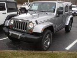 2013 Billet Silver Metallic Jeep Wrangler Unlimited Oscar Mike Freedom Edition 4x4 #79058275