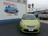 2013 Lime Squeeze Ford Fiesta SE Sedan #79058446