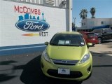 2013 Lime Squeeze Ford Fiesta SE Sedan #79058445