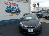 2013 Violet Gray Ford Fiesta SE Sedan #79058444