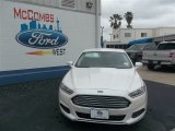 2013 White Platinum Metallic Tri-coat Ford Fusion SE 1.6 EcoBoost #79058439