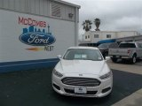 2013 White Platinum Metallic Tri-coat Ford Fusion SE 1.6 EcoBoost #79058438