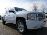 2013 Summit White Chevrolet Silverado 1500 LT Crew Cab #79058760
