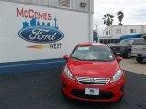 2013 Race Red Ford Fiesta SE Sedan #79058435