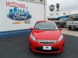 2013 Race Red Ford Fiesta SE Sedan #79058434