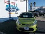 2013 Lime Squeeze Ford Fiesta SE Hatchback #79058433