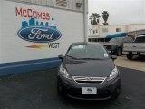 2013 Violet Gray Ford Fiesta SE Sedan #79058426