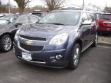 2013 Atlantis Blue Metallic Chevrolet Equinox LTZ AWD #79058235