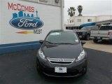 2013 Violet Gray Ford Fiesta SE Sedan #79058425