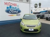 2013 Lime Squeeze Ford Fiesta SE Sedan #79058423