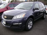 2013 Atlantis Blue Metallic Chevrolet Traverse LS #79058207