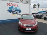 2013 Ruby Red Ford Fiesta SE Sedan #79058419