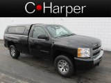 2011 Black Chevrolet Silverado 1500 LS Regular Cab 4x4 #79059062