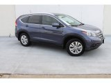 2012 Twilight Blue Metallic Honda CR-V EX-L #79059194